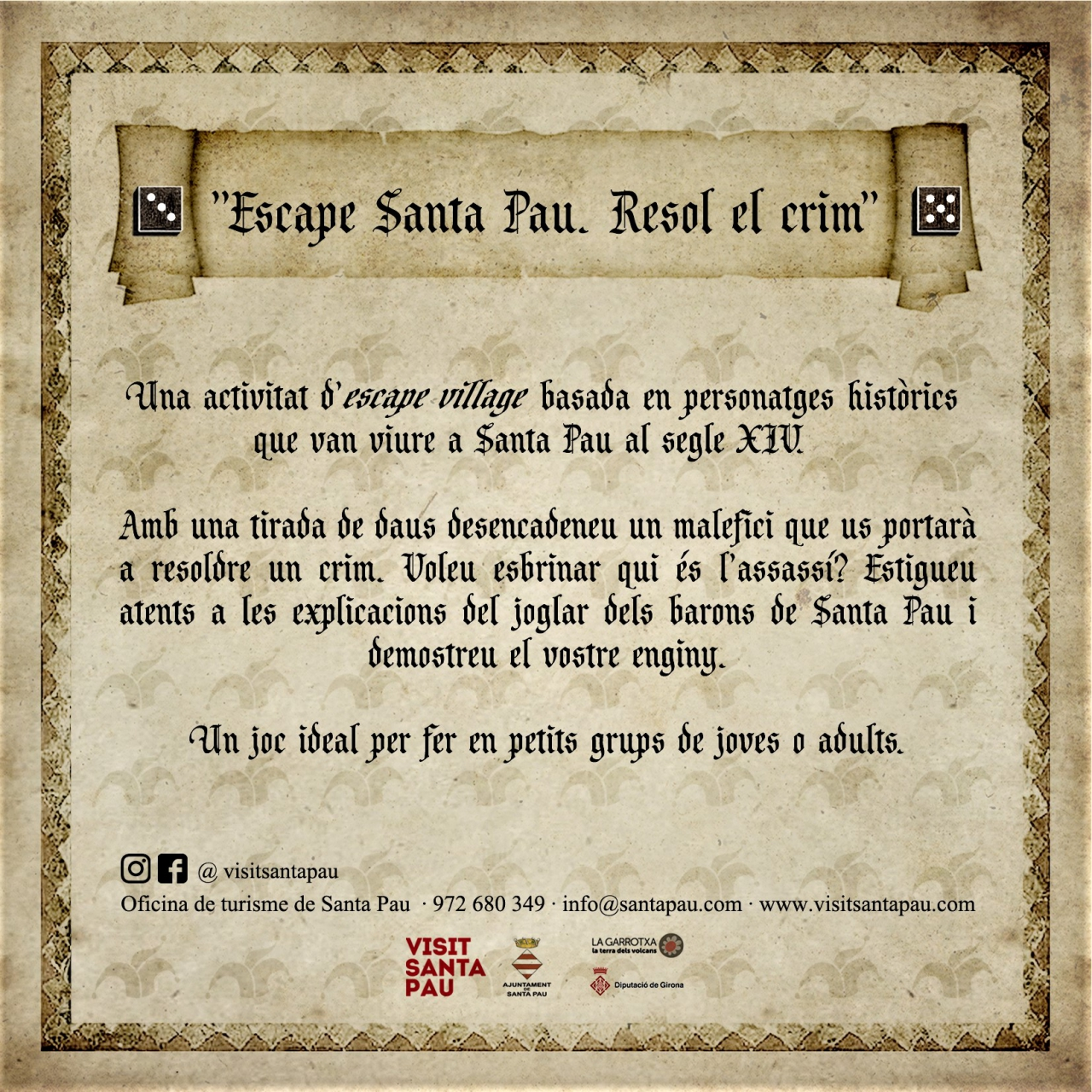 Escape Santa Pau